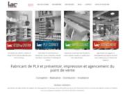 screenshot http://www.lacdirect.com aménagement