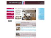 screenshot http://www.lachambreclaire.eu agence immobilière paris