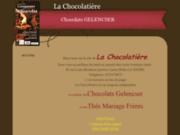 screenshot http://www.lachocolatiere-lehavre.com bouquet de fleurs en chocolat