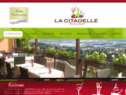 screenshot http://www.lacitadelle-grenay.fr/index.html Restaurant Pizzéria la Citadelle, à Grenay proche Saint-Quentin-Fallavier