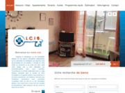 screenshot http://www.lacleimmobilierebasque.fr La Clé Immobilière Basque, jeune agence immobilière en Pays Basque