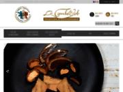 screenshot http://www.lacombedejob.com foie gras produits régionaux et coffrets cadeaux.