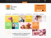 screenshot http://www.lacompagniedesfamilles.com/ROUEN Gardes d'enfants en Seine Maritime