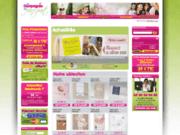 screenshot http://www.lacompagniedufairepart.com la compagnie du faire-part
