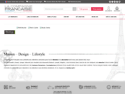 screenshot http://www.lacompagniefrancaise.com la compagnie francaise - linge de maison