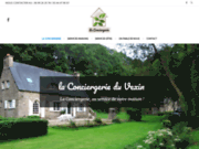 screenshot http://laconciergerieduvexin.com Services de conciergerie privée