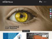screenshot http://www.lacoupedumondederugby.com agence de voyage eventeam, coupe du monde de rugby