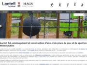 Lactell SA : construction et aménagement d'aire et place de jeux