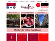 screenshot http://www.lacuisineparis.com la cuisine paris - cours culinaires pour adultes et enfants !