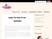screenshot http://www.ladyfitandform.fr club fitness vannes