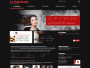 screenshot http://www.lafabulositenina.com salon de coiffure à Narbonne 11
