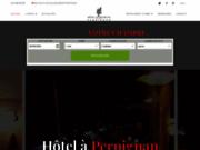 screenshot http://www.lafauceille.com hotel restaurant la fauceille perpignan