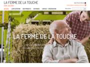 screenshot http://www.lafermedelatouche.com La Ferme de la Touche