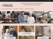 screenshot http://www.lafilaturelaine.com/ boutique en ligne de laine à tricoter