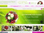 screenshot http://www.lafontaineauxfleurs-37.com la fontaine aux fleurs