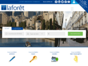 screenshot http://www.laforet-courbevoie.com laforet immobilier vixit