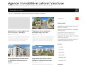 screenshot http://www.laforet-immobilier-louviers.com agence laforêt immobilier louviers
