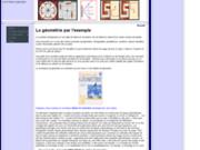 screenshot http://www.lageometrie.fr la géométrie par l'exemple