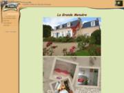 screenshot http://www.lagrandemenuere.fr maison d'hôtes la grande menuère