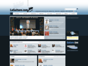 screenshot http://www.laguitare.com/ laguitare