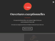 screenshot http://www.laiglon-pontivy.com restaurant brasserie pizzeria à pontivy dans le morbihan 56