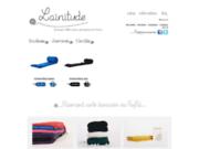 screenshot http://www.lainitude.fr Lainitude, marque d'écharpes Made In France 100 pour 100 laine