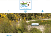 screenshot http://www.laiterie-rissoan.fr produits du terroir de lozère