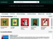 Acheter des livres avec lalibrairie.com, librairie indépendante en ligne