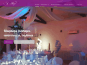 screenshot http://www.lalize-reception.com/ l'alizé restaurant salle de réception à vitrolles bouches du rhône 13