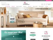 screenshot https://www.lamaisonduconvertible.fr Ce site vous propose une large variété de canapés convertibles confortables
