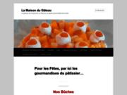 screenshot http://www.lamaisondugateau.fr/ la maison du gâteau : bienvenue chez le pâtissier