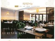 screenshot http://www.lamamounia.fr/ Restaurant la Mamounia Lille