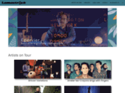 screenshot http://www.lamastrock.com agence artistique de production et de diffusion lamastrock