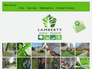 screenshot http://www.lamberty.fr/ pierre lamberty artisan