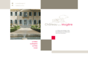 screenshot http://www.lamogere.fr/ château de la mogère à montpellier hérault 34