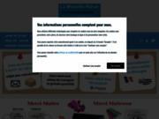 screenshot http://www.lamouettebleue.com gravure sur verre
