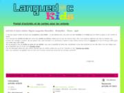 screenshot http://www.languedoc-kids.fr activité enfants montpellier