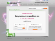 screenshot http://www.languedoc-roussillon.ws languedoc roussillon annuaire