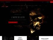 screenshot http://www.lantredelilith.fr/ L'Antre de Lilith
