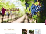 La plateforme des vignerons