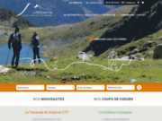 screenshot http://www.larebenne.com/vtt-pyrenees/index.html pyrénées randonnée vtt