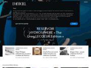 screenshot http://www.larevuedesmontres.com/ la revue des montres – toute l'actualité des montres