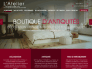 screenshot http://www.latelier-decoration-antiquite.com/ L'Atelier