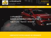 screenshot http://www.latelierauto82.com garage auto à Réalville
