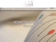 screenshot http://www.latelierdaurelie.fr atelier boutique de couture ain