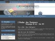 screenshot http://www.latelierdesdesigners.fr/ créateur de mobiliers unique