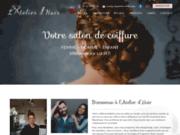 screenshot https://www.latelierdhair.com/ salon de coiffure mixte à Villeneuve sur Lot 47300