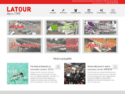 screenshot http://www.latour-ets.fr remorque, camping, mobilier de jardin, attelages