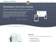 screenshot http://www.laumiere.net assistance informatique nantes