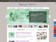 screenshot http://www.laurentmarre.com artiste peintre laurent marre